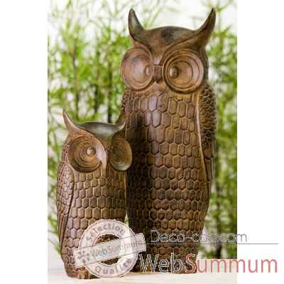 "Figure ""hibou"" Casablanca Design -59819"