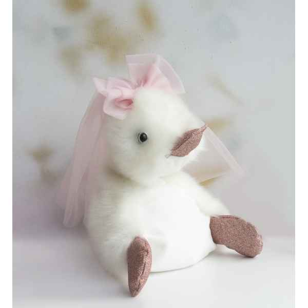 Peluche coin coin just married - 30 cm -CC7014