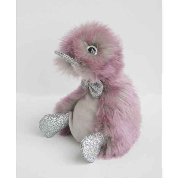 Peluche coin coin orchidee - 18 cm -CC7061