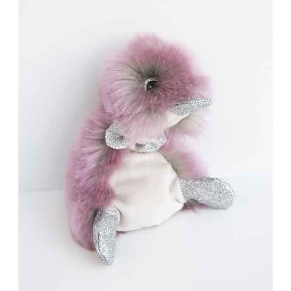 Peluche coin coin orchidee - 22 cm -CC7062