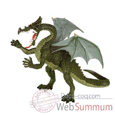 Video Figurine le grand dragon vert-60445