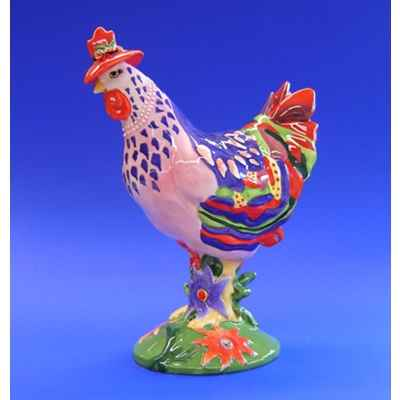 Figurine Coq - Poultry in Motion - Spring Chicken - PM16204