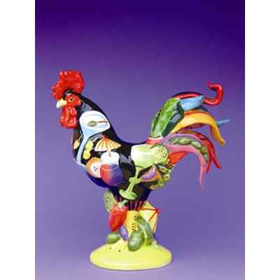 Figurine Coq - Poultry in Motion - Cocktails Poultry  - PM16238