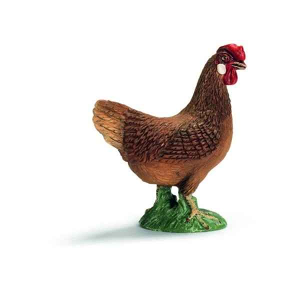 Video Figurine Poule Schleich -13646