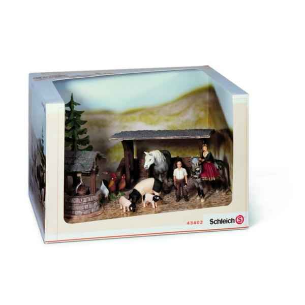Video Figurine Schleich Set de jeu - Le Monde des chevaliers -43402