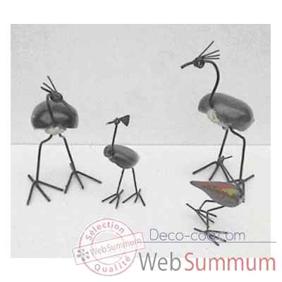 Video Sculpture oiseau en pierre Terre Sauvage -STOST02