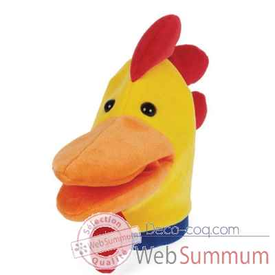 Marionnette looney bird zoo coq -144120